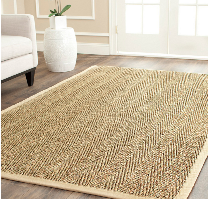 inexpensive rugs handwoven casual sisal natural seagrass rug SAXLOME