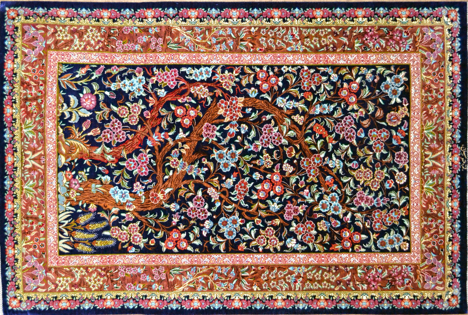 iranian rugs on display in cologne intu0027l interiors show EMQDFKR