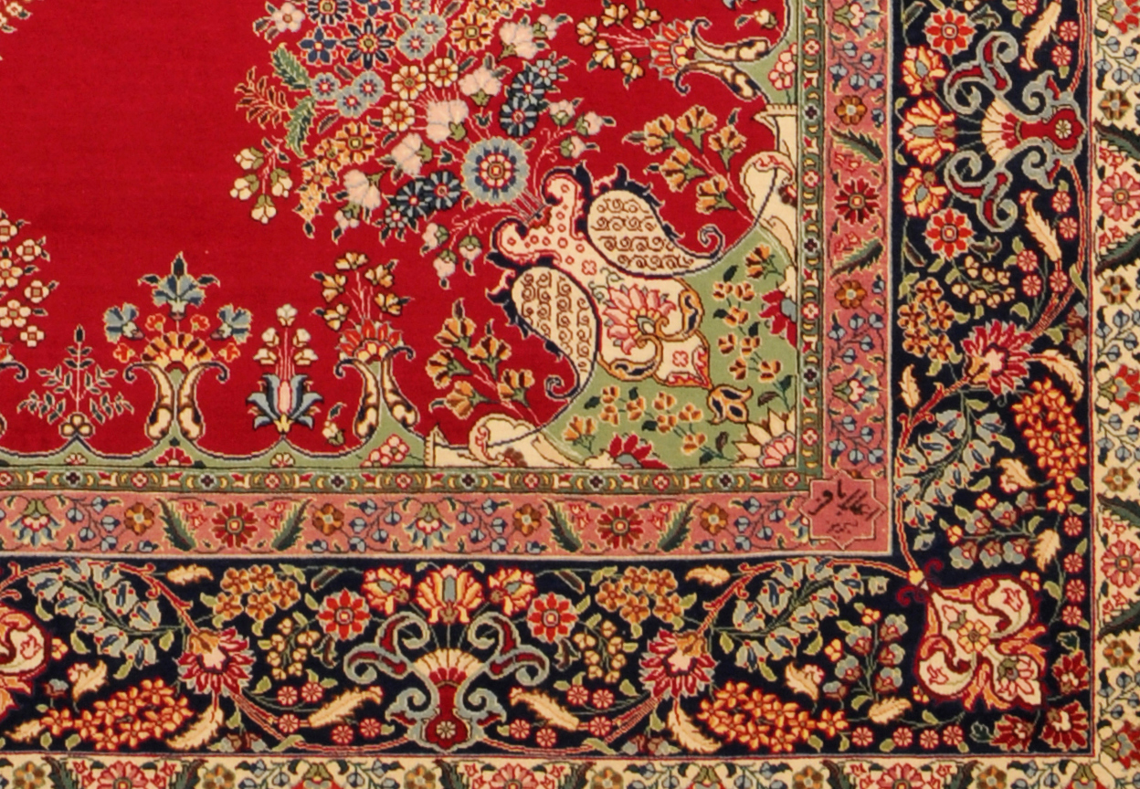 iranian rugs signature of alabaph FPZOTDG