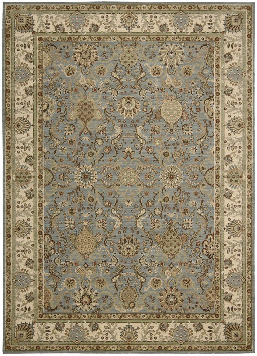 kathy ireland rugs kathy ireland ki06 lumiere stateroom ki602 slate blue area rug #98592 HGSSYBM