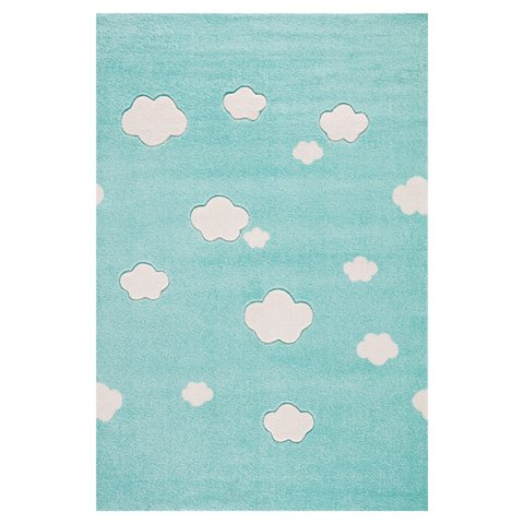 kids rug happy rugs cloud seven mint/creme 160x230cm ... IKQFHCQ