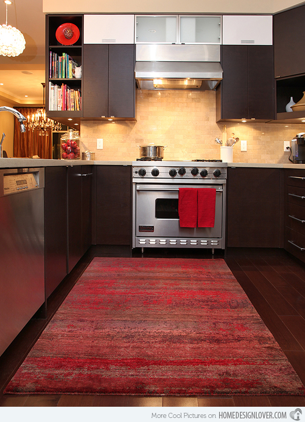 Kitchen area rugs 15 area rug designs in kitchens home design lover kitchen area rugs BEGMTEV