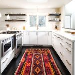 Kitchen area rugs can improve the look of your kitchen