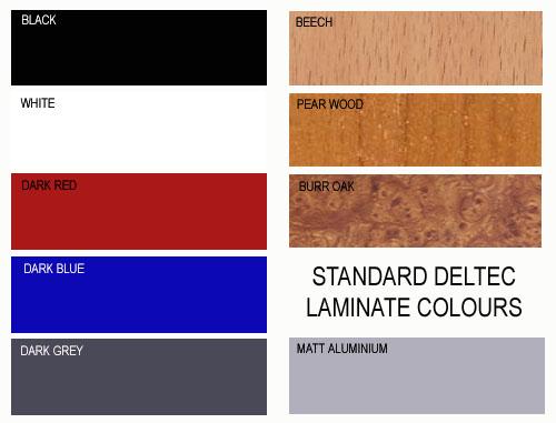 laminate colours laminate aquariums - standard colours | d-d the aquarium solution GAXXPRV