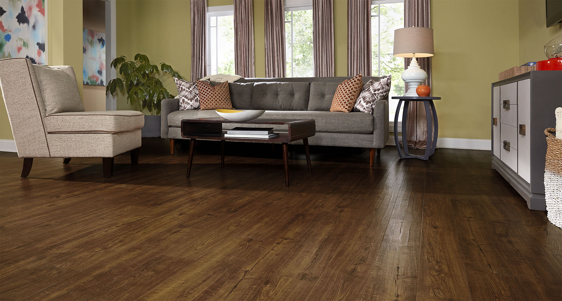 laminate flooring colors styles auburn scraped oak pergo outlast+ laminate flooring | pergo® flooring SCNTWEP