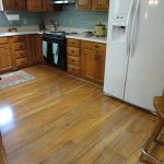 Various aspects of laminate flooring in kitchen