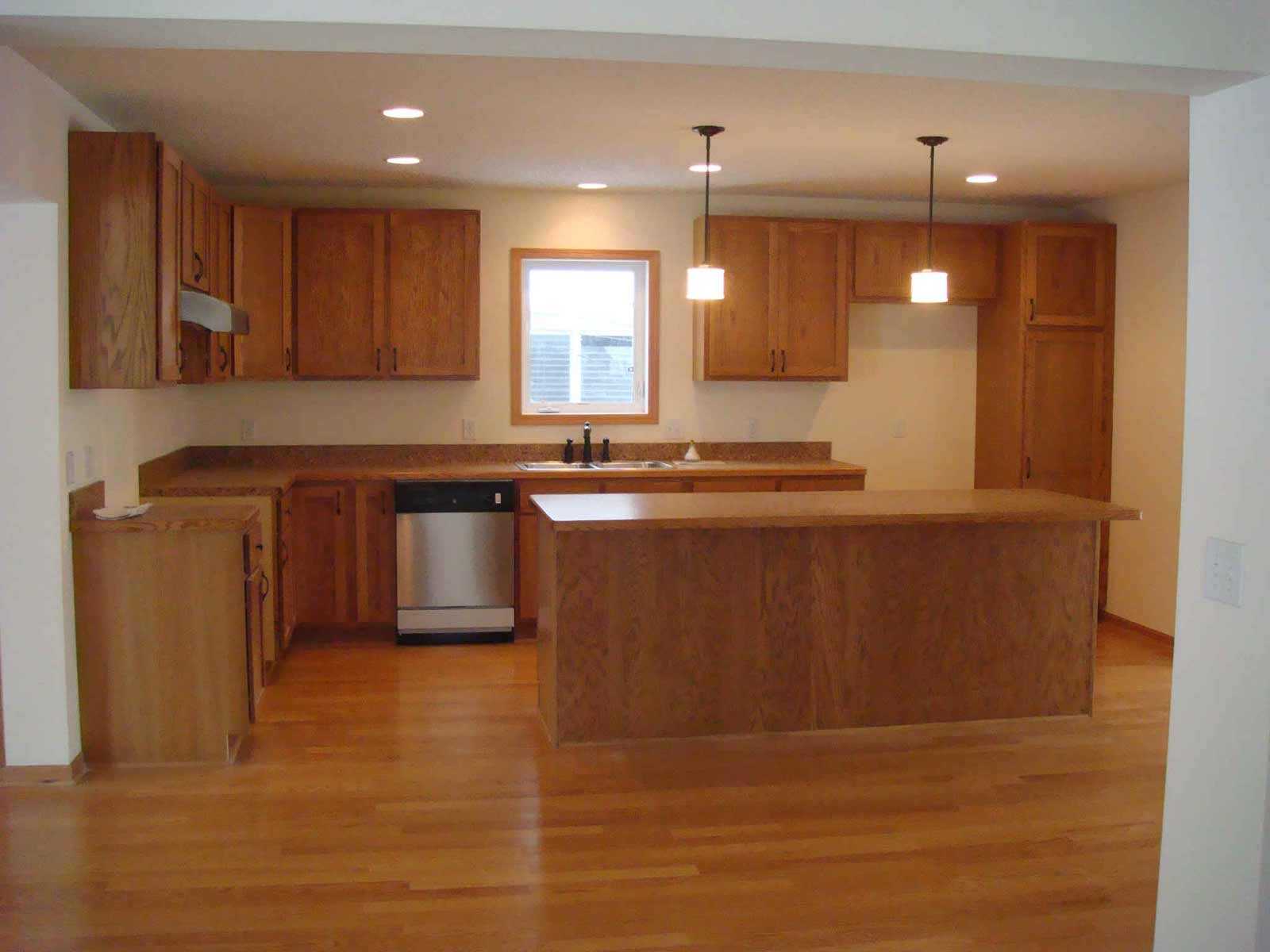 Laminate Flooring Kitchen Cabinets Decor Wood In With Hardwood For