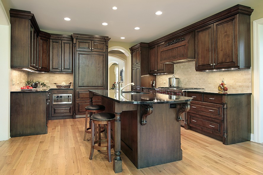 laminate flooring kitchen cabinets inspiration ideas dark laminate flooring kitchen with 5 ZYSRVQI