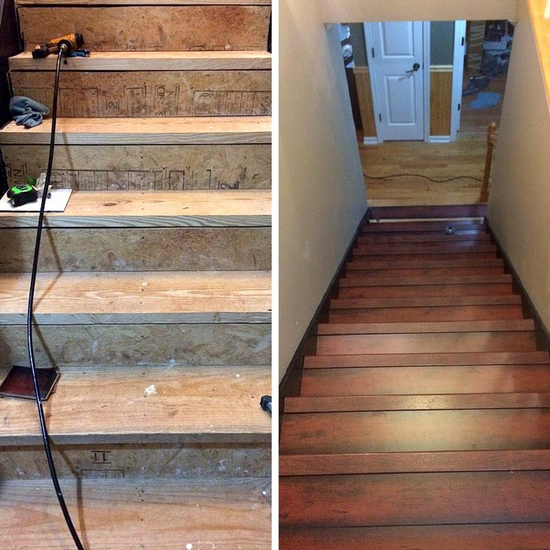 laminate flooring on stairs QRRARUN