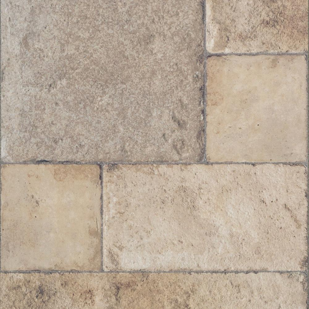 laminate tile flooring innovations tuscan stone sand 8 mm thick x 15-1/2 in. wide SXGNGHA