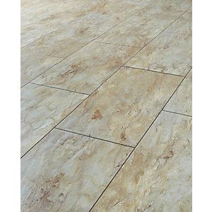 laminate tiles wickes indian slate tile effect laminate flooring - 2.5m2 pack RZEVVSU