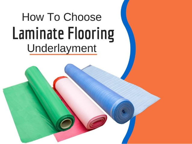 laminate underlayment laminate flooring underlayment options -visqueen 6mil pe vapor barrier  -standard 3mm underlayment QTUFVSH