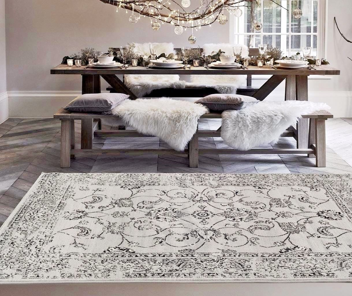 Large floor rugs – benefits and placing tips