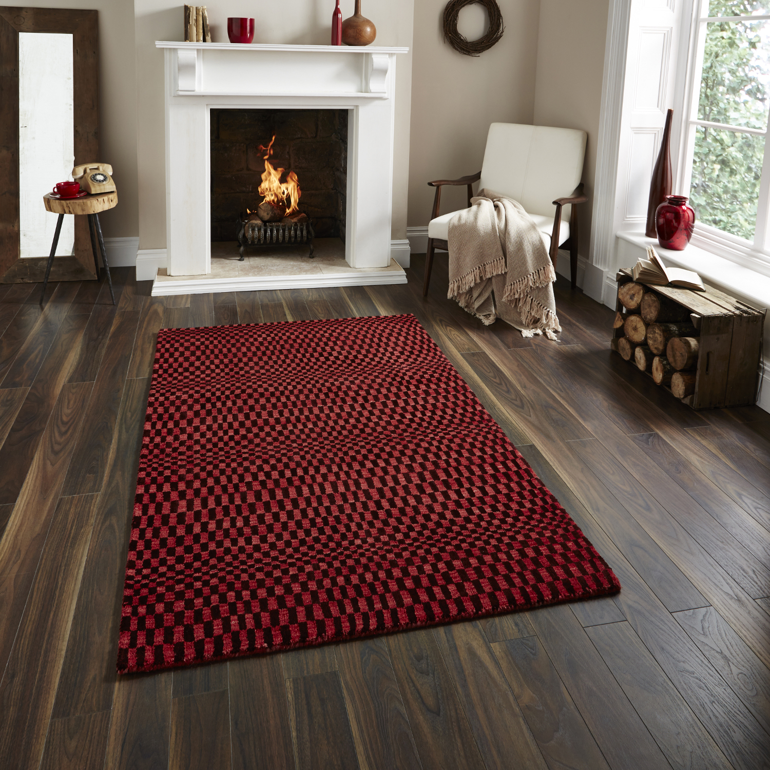 Large floor rugs sonic-wave-effect-optical-illusion-large-floor-mat- QCXWHOL