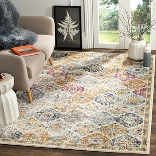 large rug safavieh madison bohemian cream/ multi rug - 12u0027 ... ZNSMFGK