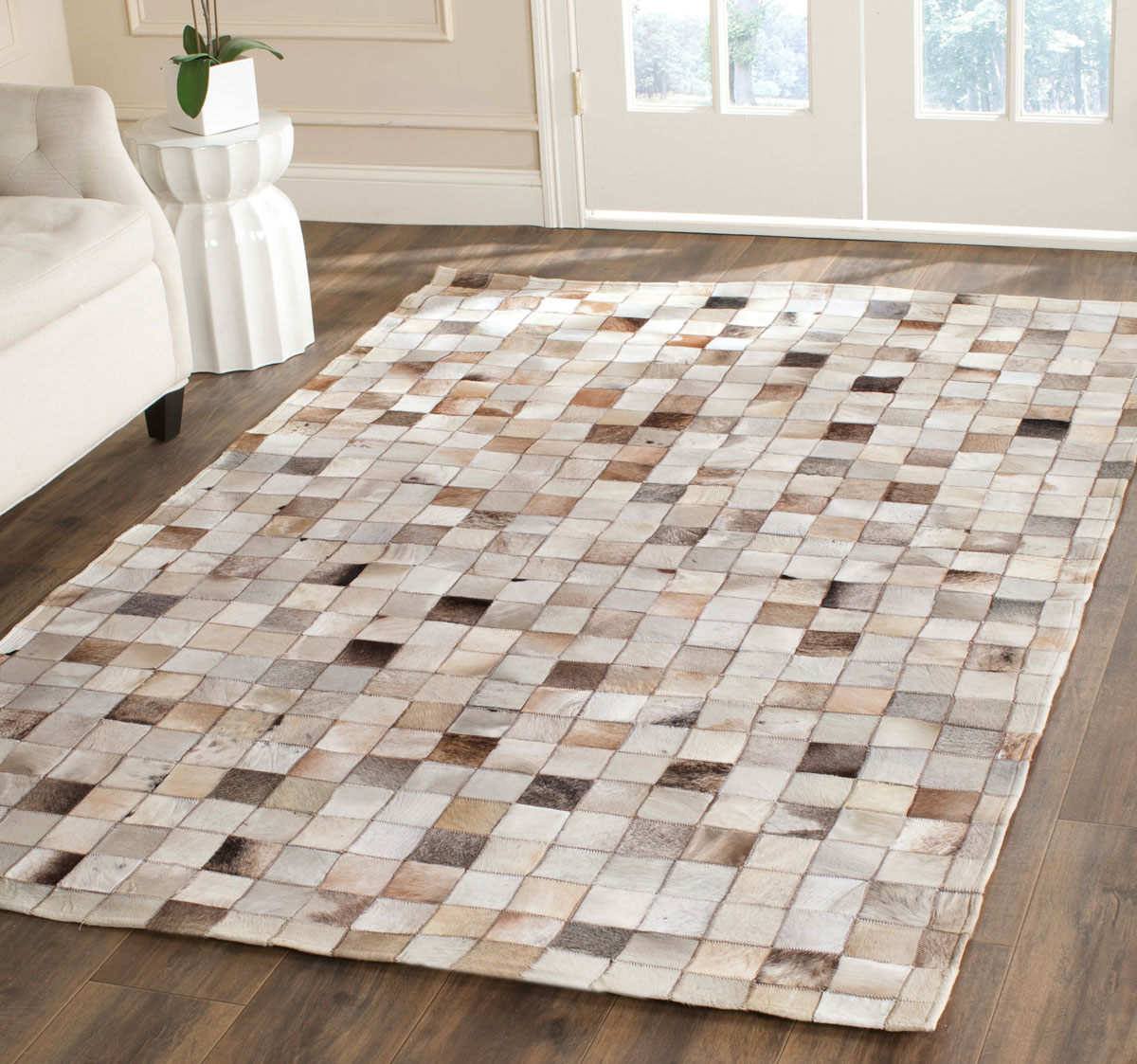 leather rug 5u0027 0 FSQZTEG