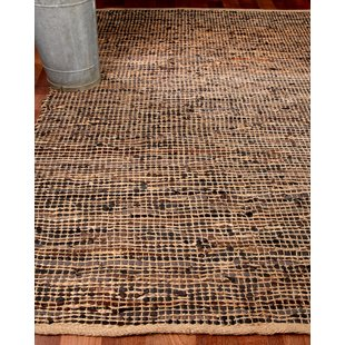 leather rug cosmo leather hand loomed area rug PKIYMRZ