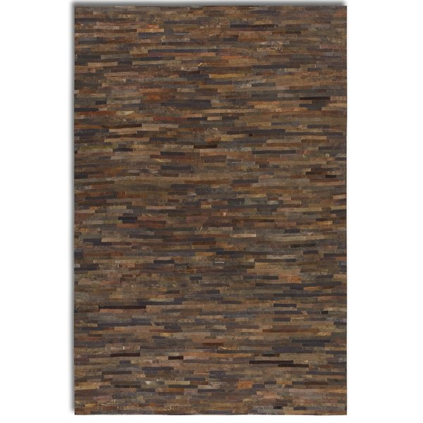 leather rug leather rugs youu0027ll love | wayfair LVGDKXY