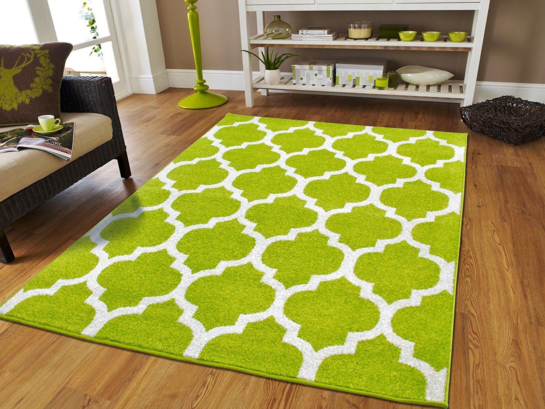 luxury morrocan trellis green rugs 8x10 area rugs under $100 bedroom rugs UGEMEZD