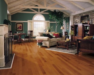 Why is maple flooring preferred