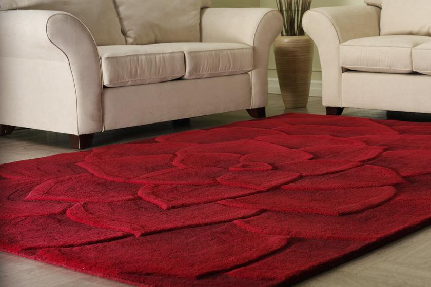 modern area rugs beautiful red floral contemporary area rug all about rugs in modern within YFHUBRX