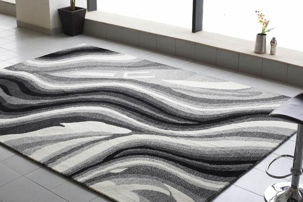 """underfoot imaginativeness of modern area rug"""