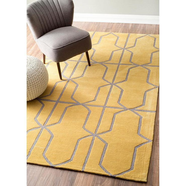modern handmade rugs nuloom handmade modern geometric gold rug ESPMMZN