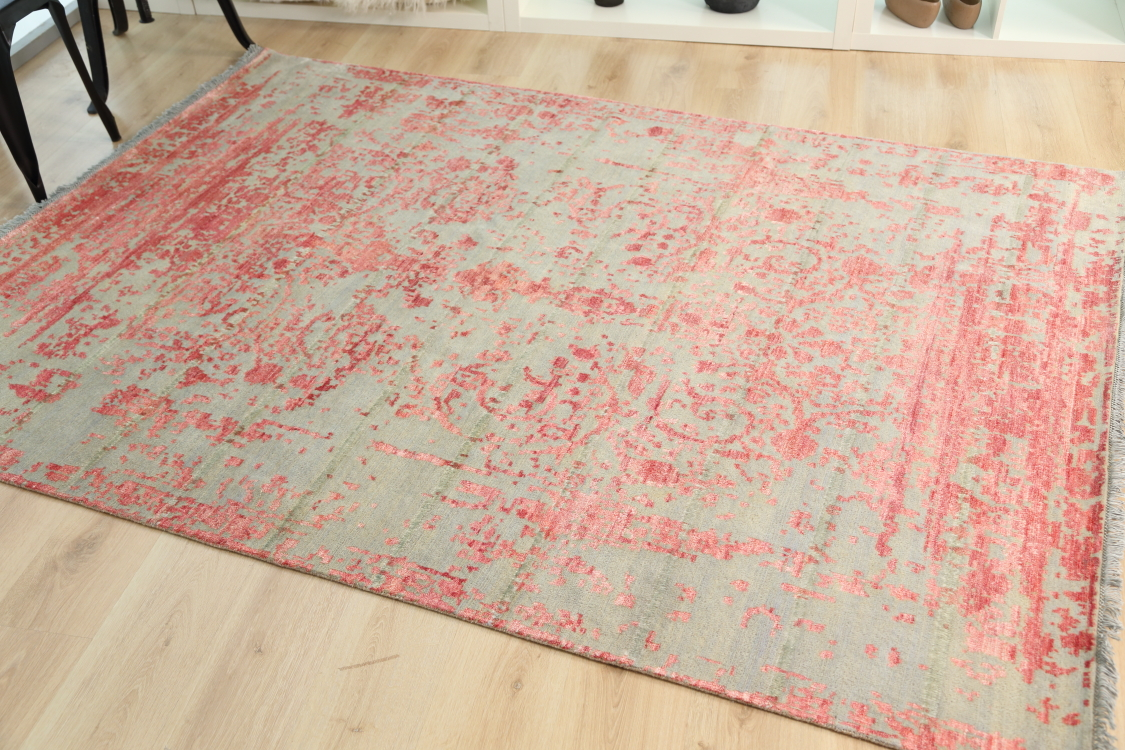 modern handmade rugs vintage erased clics handmade contemporary rug 172x241cm AOAMCZF