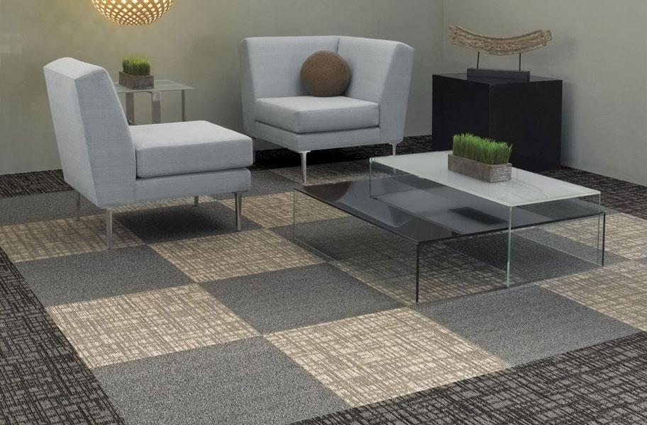 modular carpet shaw mesh weave CBJKJCP