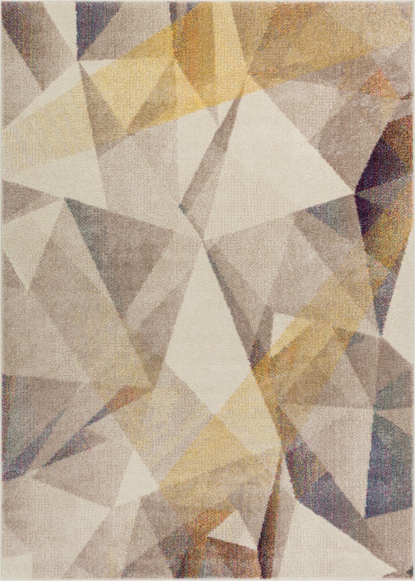 naomi beige mid-century modern rug OASVLDS