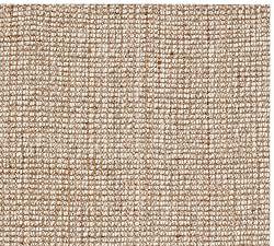 natural rugs chunky wool u0026 jute rug - natural ... AHBZOSN