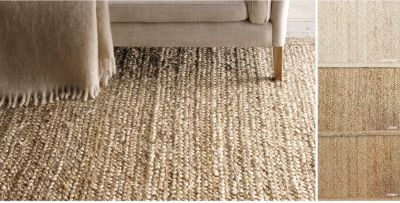 natural rugs jute rug HYQIOWH