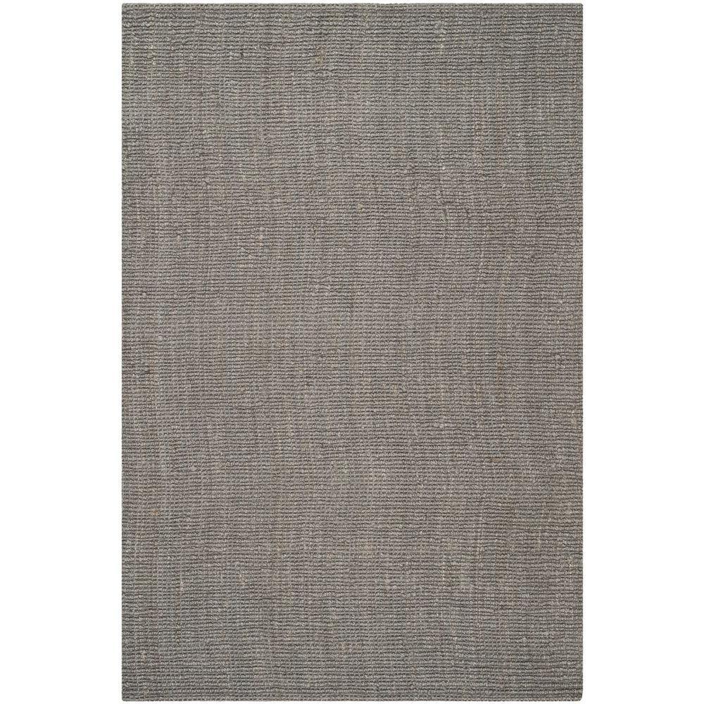 natural rugs safavieh natural fiber light grey 5 ft. x 8 ft. area rug QMVFNNQ