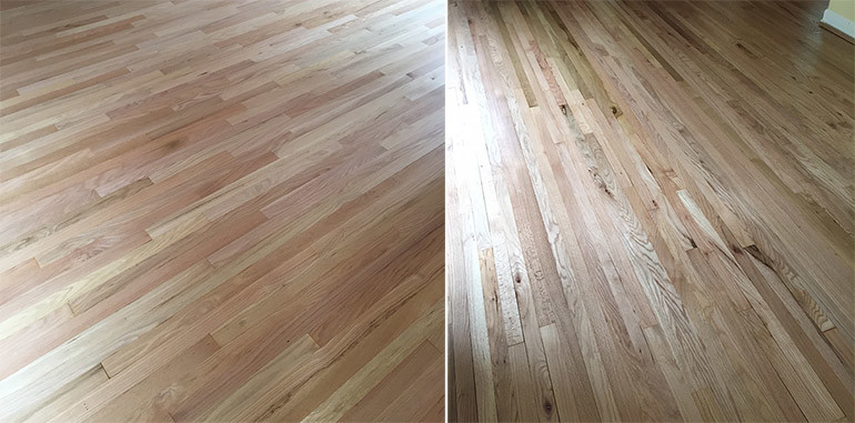 natural wood flooring when stain is not necessary - stained versus natural wood floors LMZJBIN