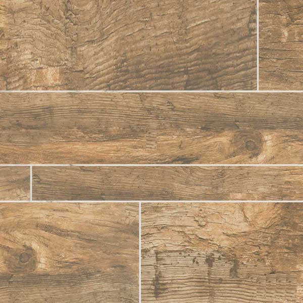 Natural wood tile floor forest natural multi width porcelain wood look floor and wall tile EOIAIEG
