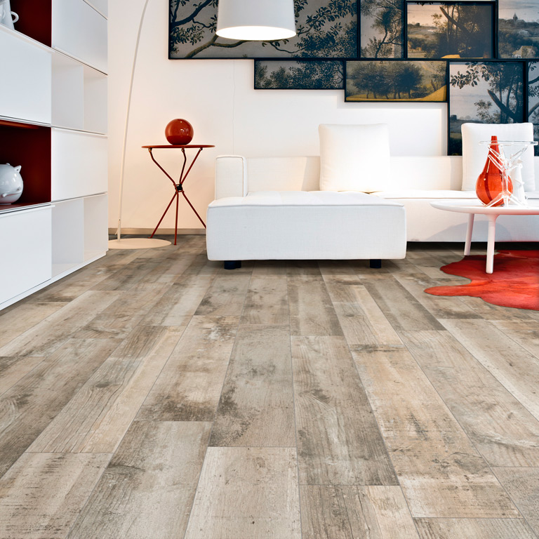 Natural wood tile floor view in gallery ceramic-tile-that-looks-like-distressed-wood-faro- APCGQZQ