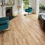 Natural wooden look with wood tile floor