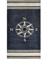 nautical rugs dynamic rugs nautical cotton rug - 2u00273 x 4u00276 (nautical 2 YUTHNSW