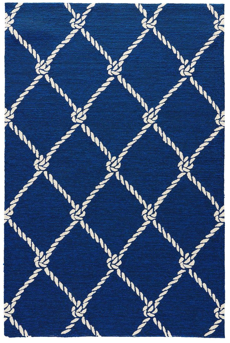 nautical rugs presenting blue fish net, a new look nautical styled rug from jaipur IWJJIFN