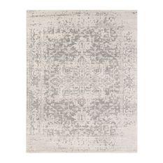 neutral rugs surya - harput area rug, rectangle, neutral-gray, 7u002710 NCUIJAK