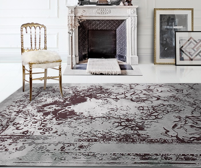 A precious touch with luxury rugs