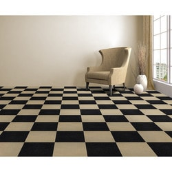 nexus carpet tiles - nexus 12x12 carpet tiles - jet / 12 x BYLWITJ