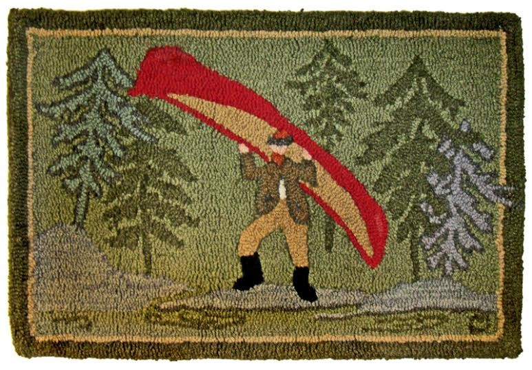 nice hand hooked rugs museum logo 2x3 green 100 wool hand hooked rug GOYLPTT