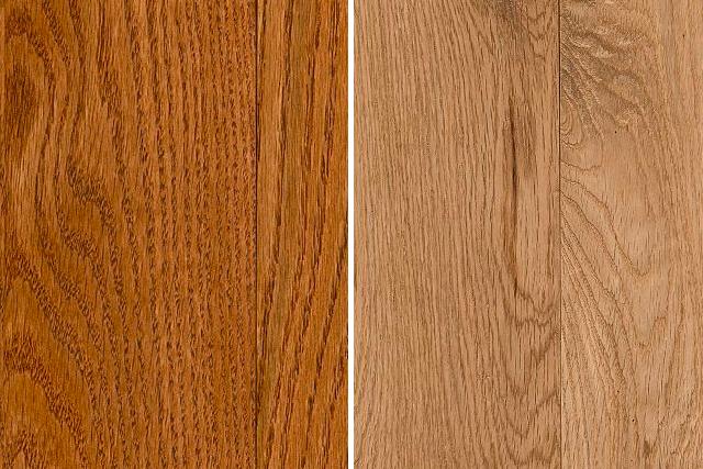oak hardwood flooring red oak and white oak comparison MDDYFDD