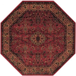 octagon rugs delta linsey crimson octagon area rug - 3u002711 x ... AEZHDBS