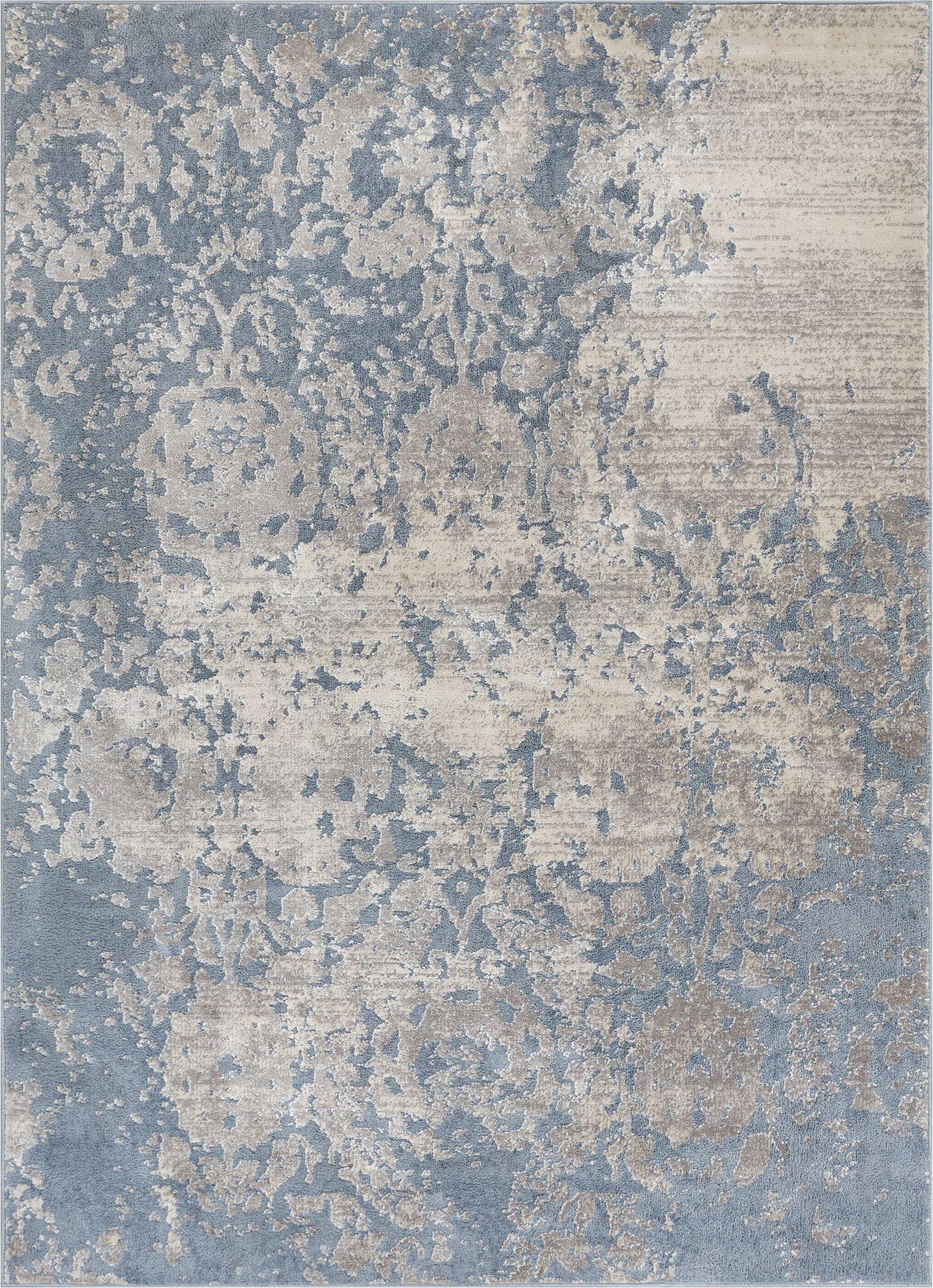 ora blue modern rug IQEZNSV