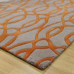 Why are orange rugs most preferred?