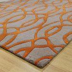 orange rugs amazing orange and