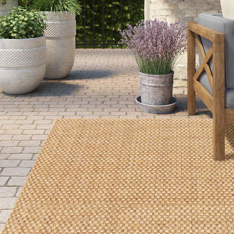 orris sand indoor/outdoor area rug FACZYZE