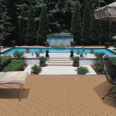 outdoor carpeting indoor / outdoor carpet by stanton u201cbellau201d bronze WVYLEZN